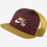 Bone Nike Sb Vinho no Mercado Livre Brasil 02073ec002c