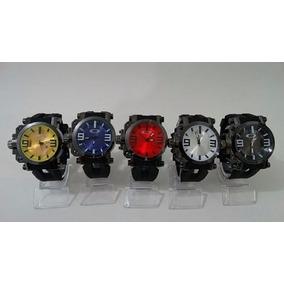 Relógio Oakley Gearbox Kit Coleção 5 Cores 5 Unidades Top