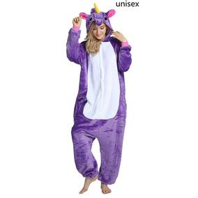 Pijama Mameluco Unicornio Disfraz Cosplay Kigurumi Adulto