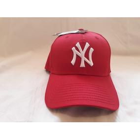 Gorra New Era Yankees New York Roja Estilo Fred Durst en Mercado ... b7e34aad0bd