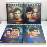 Dvd Coleção Superman 1 2 3 E 4 [ Lacrado ] Frete Gratis