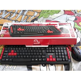 Teclado E Mouse Gamer - Combo Multilaser