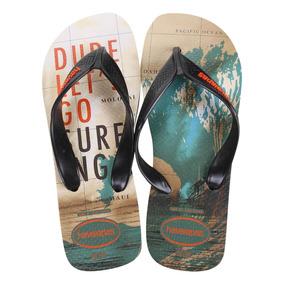 a86981c7579b Chinelo Surf Chinelos - Chinelos para Masculino Creme no Mercado ...