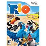 Video Juego Rio - Nintendo Wii