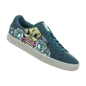 Tenis Puma Suede Day Of Dead #26.5