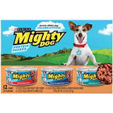 Purina Mighty Dog Wet Dog Food 3 Flavor Variety Pack Carn