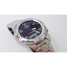 Reloj Tissot T Touch Caja Y Extensible De Acero (inv 956)