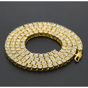 Collar Cadena Color Oro Unisex Joyería Moda Hip Hop Porfuera 0160af777a5