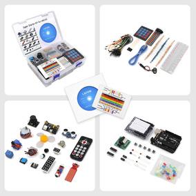 Kit Arduino Uno R3 Intermediário 180 +cd Lafvin R3 Super