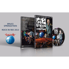 Dvd Duplo Bruce Springsteen - Rock In Rio 2013