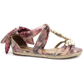 Sandália Zariff Shoes Rasteira Espadrille   Zariff
