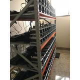 Rig Mineração Eth - 96 Placas - 2.900mh/s - 6 Meses De Uso