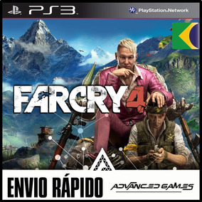 Far Cry 4 - Dublado - Jogos Ps3 Midia Digital