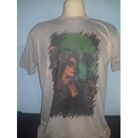 d491e3814a Maquina Tatuagem Catrina - Camisetas e Blusas para Masculino em Brás ...