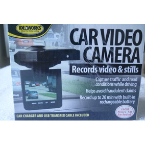Video Camera Par Carro, Idea Works, 16 Gb, Micro Sd,