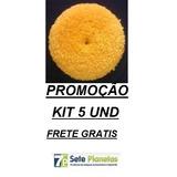 Boina Para Polimento De Lã Amarela Kit 5 Unidades Promoção 1b8265f0afe
