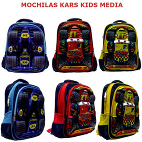 Mochila Escolar De Costas Carros Kars Kids Media