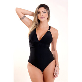 Maiô Frente Única Clássico Bojo Moda Praia Feminina