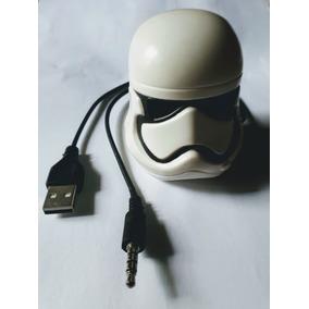 Mini Cx De Som Usb Stormtrooper Star Wars P/ Pc E Notebook