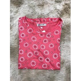 Blusa T-shirt Feminina Baby Look Flor De Girassol Importar