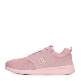 d9805a8f51 Tenis Dc Shoes Midway Rosa Mujer Originales Casuales A Meses