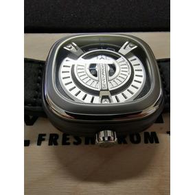Reloj Sevenfriday M1/1 Acero Inoxidable Correa Piel