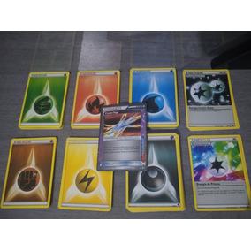Lote 100 Cartas Energia Pokémon Tcg