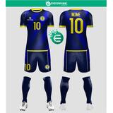 74ef6484e6 Uniforme Completo Futebol Dry 20 Peças (camisa+short+meião)