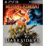 Mortal Kombat + Darksiders Ps3 Digital Gcp