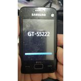 Celular Samsung Star 3 Duos Gt-s5222 Dual-chip - Leia Tudo