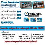 Cyber Económicos Kit 5 Computadoras Core I3