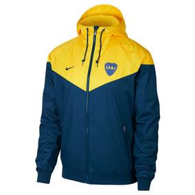 Campera Nike Hombre Boca Juniors Windrunner 2018126-sc ba3cca5e54693