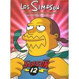 Dvd Os Simpsons 12ª Décima Segunda Temporada Dublado