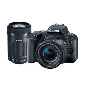 Câmera Canon Sl2 Kit Premium - Ef-s 18-55mm / Ef-s 55-250mm