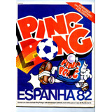 4 Álbum Digitalizado Ping Pong Copa Do Mundo 82, 86, 90, 94
