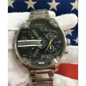 Reloj Diesel Mr. Daddy 2.0 Dz7331 Silver Sobrepedido
