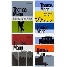 Kit Livros Thomas Mann Em Capa Dura - 5 Livros - Lacrados