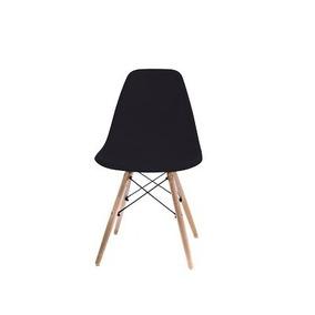 Silla C/asiento Y Resp. Plastico G. Life Eames Negro 2671