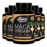 Kit 5 Maca Peruana Premium 550mg 120 Cáps - Unilife Vitamins