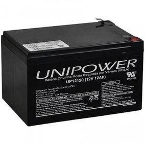 Bateria Selada Unipower 12v 12a Up12120 Nobreak