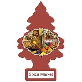 Aromatizante Little Trees Spice Market 120 Unidades