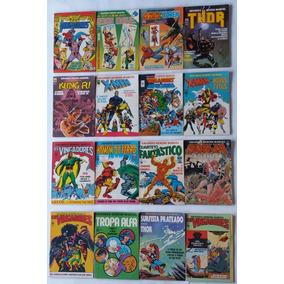 Gibi Grandes Heróis Marvel 1983 Ed: Abril 01, 03 Ao 38 Hq