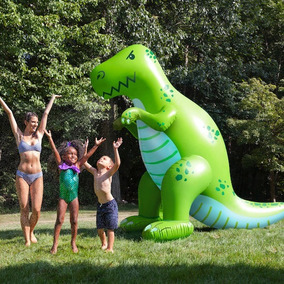 Dinosaurio Yard Sprinkler Bigmouth Inc Aspersor De Agua