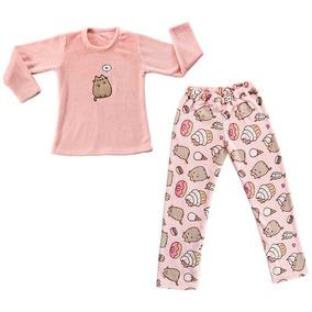 Pijama Pusheen Chica/mediana Envio Gratis