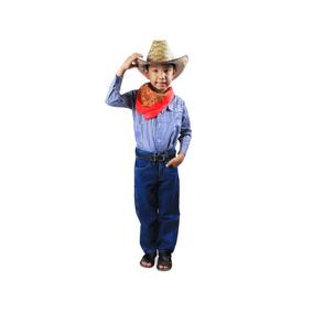 Camisa Tipo Vaquera Para Niño Talla 2 A La 8
