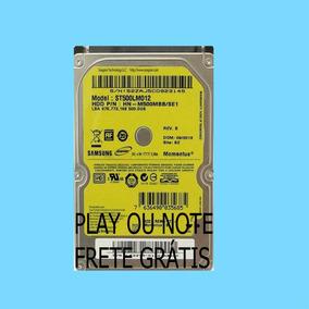 Hd Interno 500 Gb P/notebook Play 4 Play3 Diversas Marcas