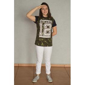 Camisetas Romanos 12 - Camisetas Manga Curta no Mercado Livre Brasil b3d85c83942b3