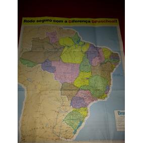 Mapa Rodoviário Do Brasil Dpaschoal