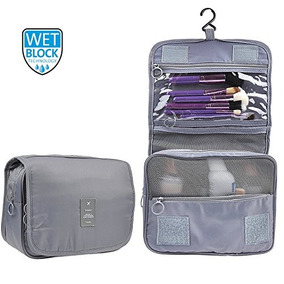 0e27f191f435 Travel Hanging Nylon Toiletry Bag Cosmetic Carry Case Makeup