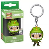 Rex Llavero Fortnite Funko Pop Keychain